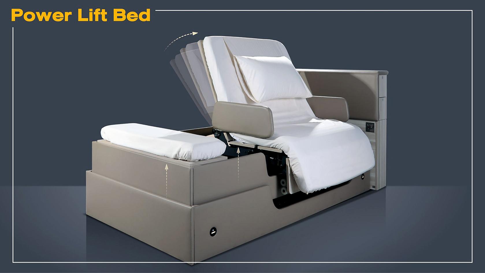 Power Lift Bed นวัตกรรมเตียงนอนสุดล้ำ รับสังคมสูงวัย