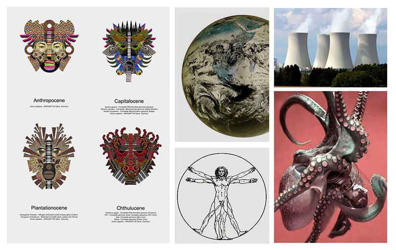 Chthulucene: มนุษย์ ไซบอร์ก สิ่งเเวดล้อม สัตว์ประหลาด เเละอนาคต
