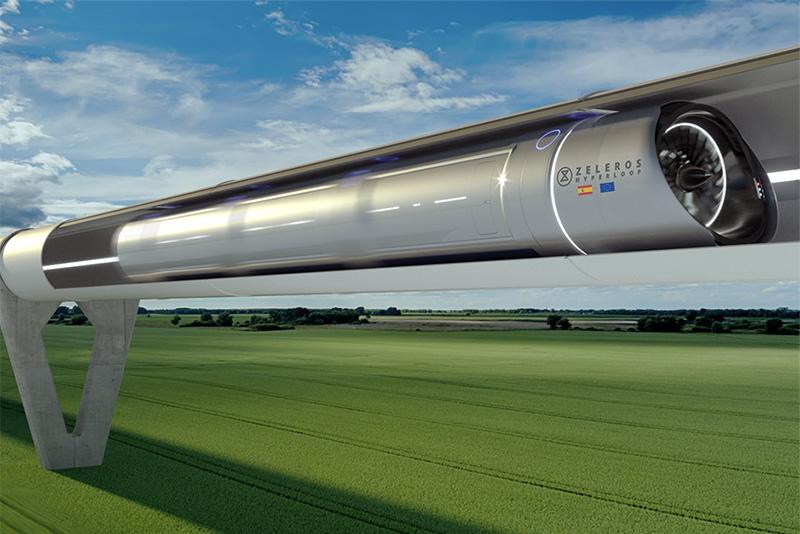 เทคโนโลยีแบบไฮเพอร์ลูป (Hyperloop)